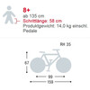 "Puky Skyride Light 24"" - Vélo enfant - 7-vitesse rose"